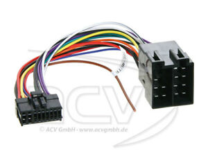 pioneer 18 pin polig autoradio radioadapter iso stecker ebay. Black Bedroom Furniture Sets. Home Design Ideas