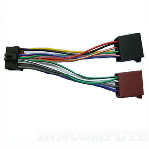 pioneer stereo loom 16 pin iso lead wiring harness cable ct21pn05 ebay