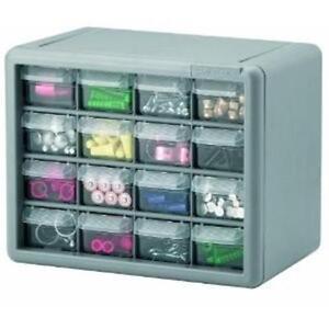 Plastic storage drawers storage cabinets arts crafts bins for Plastic craft storage drawers