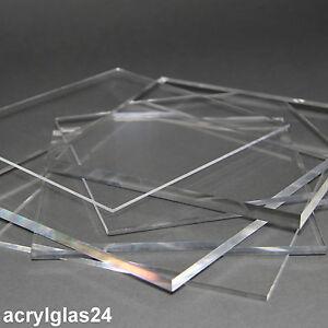 plexiglas acrylglas alle gr en st rken zuschnitt glas klar xt platte neu ebay. Black Bedroom Furniture Sets. Home Design Ideas