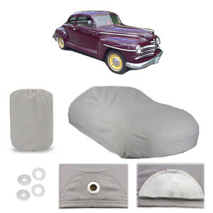 Details about PLYMOUTH SPECIAL DELUXE COUPE CAR COVER 1946 1947 1948