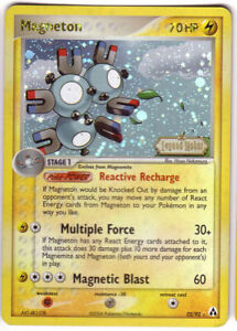 POKEMON • Magneton HOLO • EX LEGEND MAKER 22/92