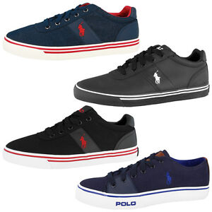 polo ralph lauren schuhe herren canvas leder denim sneaker viele farben ebay. Black Bedroom Furniture Sets. Home Design Ideas