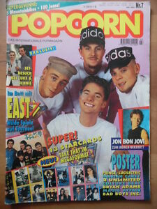 POPCORN-7-1994-1-East-17-Tote-Hosen-Lucilectric-Aerosmith-Take-That-Haddaway