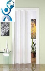 Porta porte a soffietto in pvc tagliate su misura ebay for Porte a soffietto su misura leroy merlin
