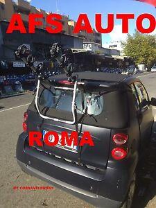 Portabici posteriore x 3 bici per smart cabrio anno 2008 x - Porta bici smart ...