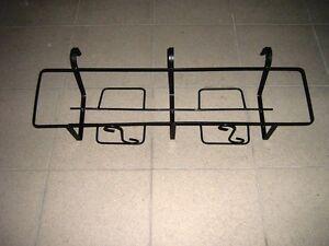 Portavaso fioriera da balcone in ferro battuto con ganci for Portavasi balcone