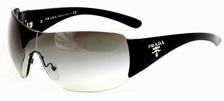 PRADA NEW Authentic BLACK Sunglasses SPR22M 1AB3M1 RIMLESS PR 22MS MEN WOMEN 0PR