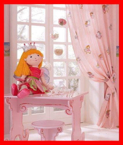 Prinzessin lillifee fertigdeko vorhang gardine 145 255 z - Lillifee kinderzimmer ...
