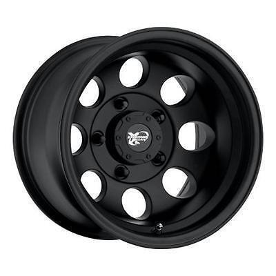 Pro Comp Alloy 15 x 8 Flat Black 8 Hole Wheels 5x4 5 Set of 4