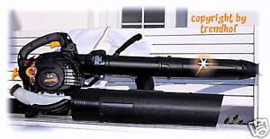 PROFI-3-in-1-Benzin-Laubsauger-LAUBBLASER-Blasgeraet-HACKSLER-345-km-h-NEU