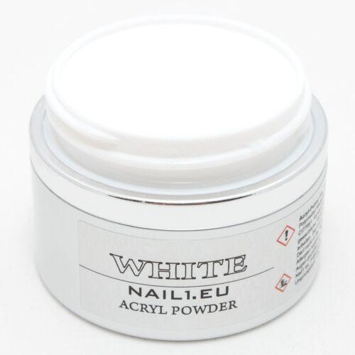acryl pulver extra wei 50 ml 41g acrylpulver acrylpuder powder puder white ebay. Black Bedroom Furniture Sets. Home Design Ideas