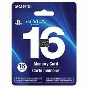PS Vita 16 GB 16GB Memory Card New Playstation System Sealed Genuine 24 HR Ship! in Consumer Electronics, Gadgets & Other Electronics, Other | eBay