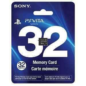 PS Vita 32 GB 32GB Playstation New Genuine Sony Memory Card Sealed 24 hr Ship in Consumer Electronics, Gadgets & Other Electronics, Other | eBay