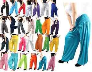 PUMPHOSEN-Haremhose-Pluderhose-Ballonhose-Aladinhose-PUMPHOSE-verschieden-farben