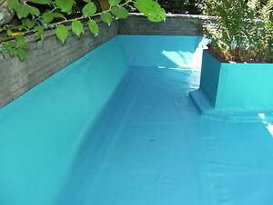 pvc teichfolie blau 1 mm gartenteichfolie t rkis blau. Black Bedroom Furniture Sets. Home Design Ideas