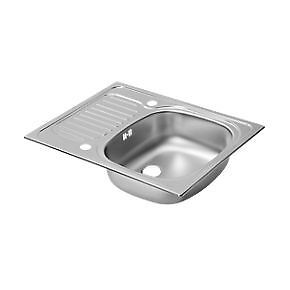 Kitchen Sink on Spacesaver Space Saver Kitchen Sink With Drainer Draing Board New