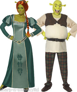 paar disney kost m herren und shrek damen fiona buch tag. Black Bedroom Furniture Sets. Home Design Ideas