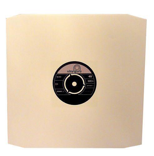 Pack Of 100 X 12 Quot Inch Vinyl Record Album Lp White Paper