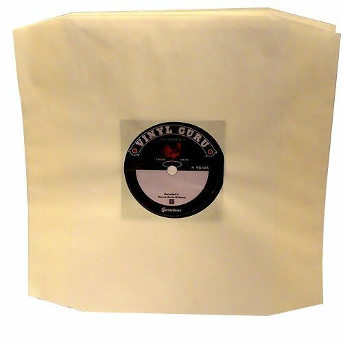 Pack Of 20 X 12 Quot Inch Vinyl Record Album Lp White Paper