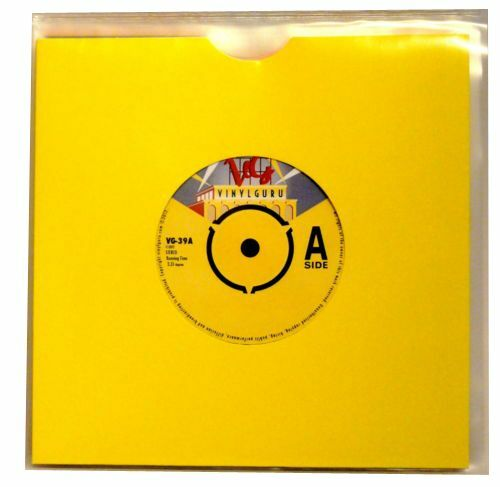 Vinyl Guru Pack Of 50 X 7 Quot Inch Record Single 400 Gauge