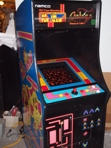 Pacman Galaga Ms Pac man video arcade game new upright game FREE SHIPPING in Collectibles, Arcade, Jukeboxes & Pinball, Arcade Gaming | eBay