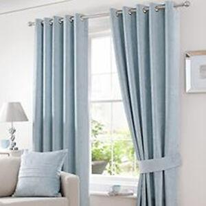 Curtain Tie Back Ideas Duck Egg Blue Bed Linen