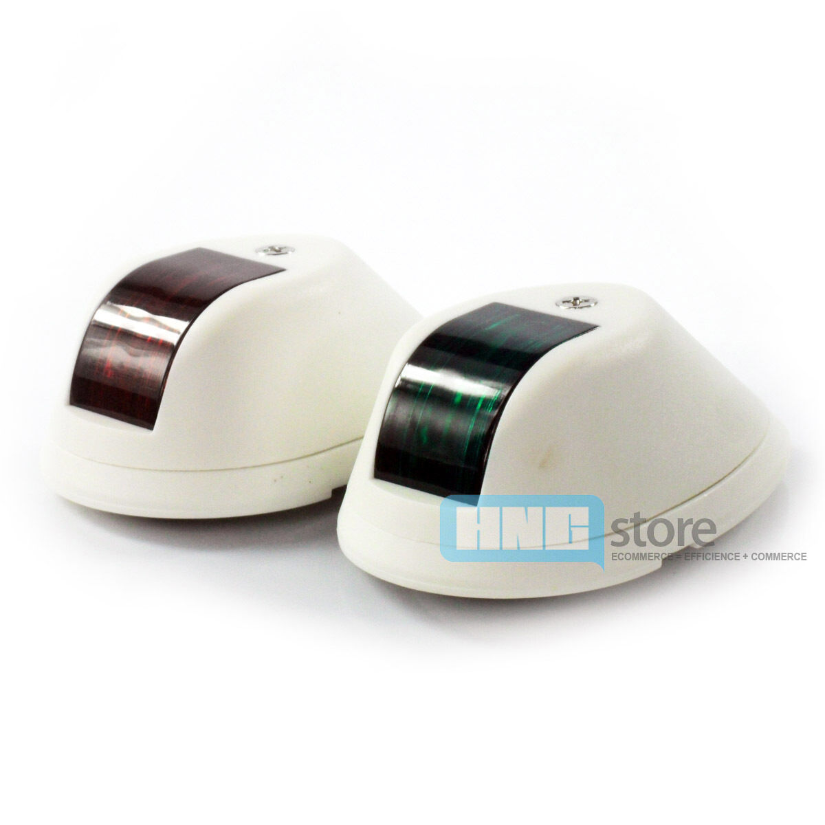 Pair of ABS Plastic Side Boat Navigation Lights Marine Boat Part Accesory New