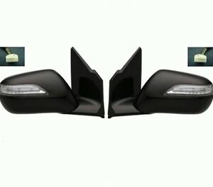 Acura  2010 on Pair Of Side Mirror 2010 2011 Acura Mdx Power Heated W Memory W Signal