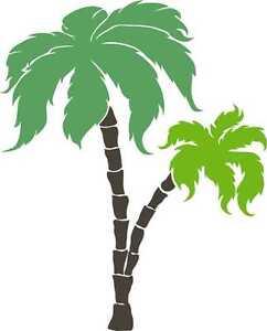 palme palmen blumen aufkleber wandtattoo sticker. Black Bedroom Furniture Sets. Home Design Ideas