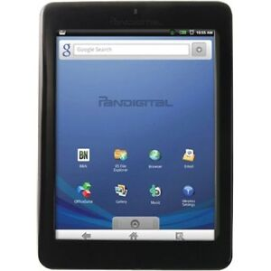 PanDigital Novel 2GB, Wi-Fi, 7in - Black