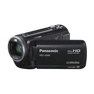 panasonic hdc sd80 full hd high definition digital video camcorder camera ebay. Black Bedroom Furniture Sets. Home Design Ideas