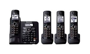 Panasonic KX-TG6644B DECT 6.0 Plus Expandable Digital Cordless Phone System in Consumer Electronics, Home Telephones, Cordless Telephones & Handsets | eBay