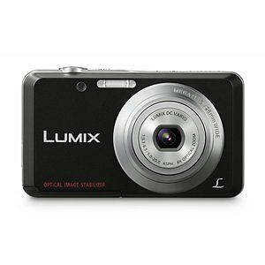 Panasonic-LUMIX-DMC-FS28-14-1-MP-Digitalkamera-Schwarz-Zubehoerpaket-4GB-Tasche