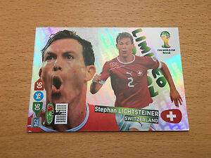 Panini-Adrenalyn-XL-World-Cup-Brazil-2014-Stephan-Lichtsteiner-Limited-Edition