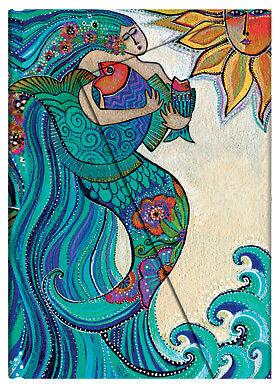 Paperblanks Laurel Burch Lined Writing Journal Ocean Song Mermaid Midi 5X7 NWT in Books, Accessories, Blank Diaries & Journals | eBay