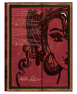 Paperblanks Lined Writing Journal Amy Winehouse Tears Dry 3x5 Mini Size New in Books, Accessories, Blank Diaries & Journals | eBay