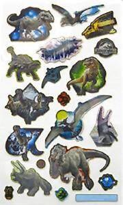 Papier-Projekte-Klein-Folie-Wiederverwendbare-Jurassic-World-Dinosaurier