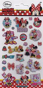Papier-Projekte-Klein-Folie-Wiederverwendbare-Minnie-Mouse-Lustige-Aufkleber