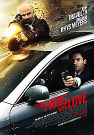 From Paris With Love (DVD, 2010)