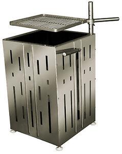 partygrill holzkohlegrill feuerschale grill feuerstelle edelstahl ebay. Black Bedroom Furniture Sets. Home Design Ideas