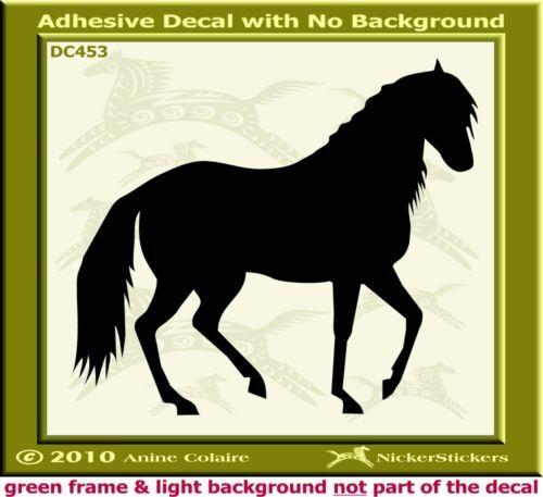 Paso Fino Custom Horse Window Trailer Decal Sticker 453