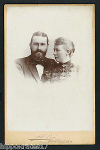 pastor thomas r nnau catherine kragh photo foto cdv kab. Black Bedroom Furniture Sets. Home Design Ideas