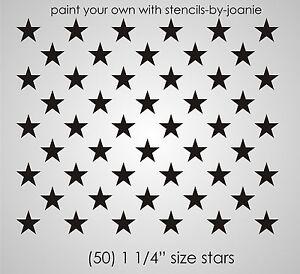 Gutsy image in american flag star stencil printable