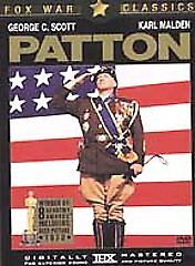 Patton (DVD, 2001, Fox War Classic; Sing...