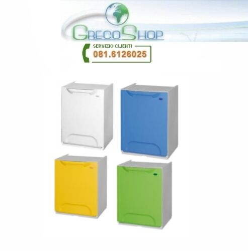 Pattumiera//Cassonetto 4moduli componibili Raccolta Differenziata Color