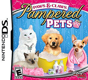 Paws & Claws: Pampered Pets  (Nintendo D...