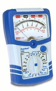 PeakTech-3385-Analog-Analogue-Multimeter-10-A-AC-DC