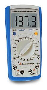 PeakTech-3730-Induktivitaets-Kapazitaetsmessgeraet-Inductance-Capacitance-Tester