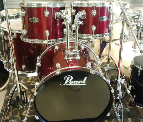 """Pearl CSC625P91 CenterStage 5 Piece Drum Set Shell Pack Red, 22, 16, 13, 12, 14"""" in Musical Instruments & Gear, Percussion, Drums 